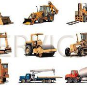 ماشين آلات راه سازی و سنگین